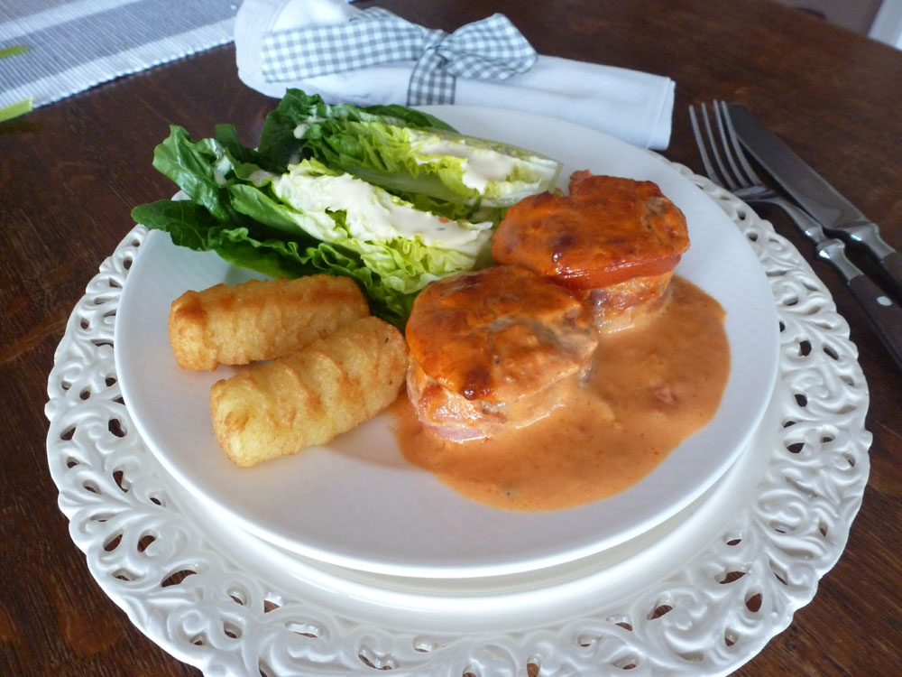 Aus dem Slowcooker: Schweinelendchen in Tomatenrahm | Langsam kocht ...