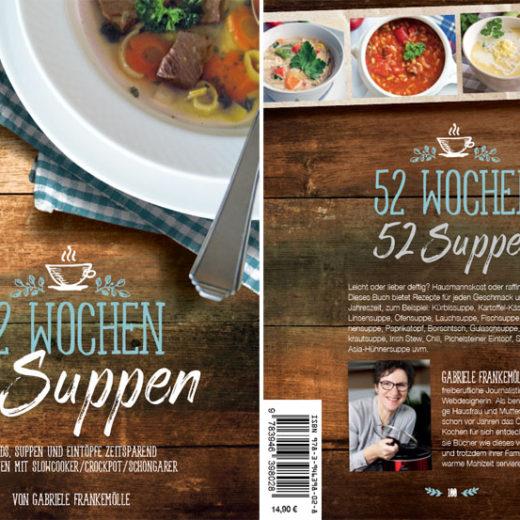 Titel Neuauflage 52 Wochen - 52 Suppen