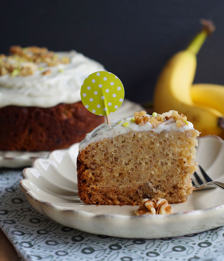 Banana Bourbon Bread