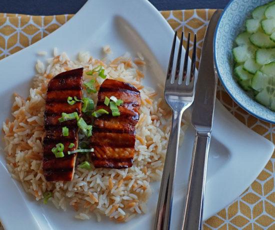 Türkischer Reis als Beilage