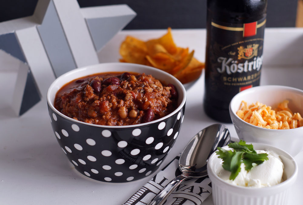 Buffalo Stout Beer Chili