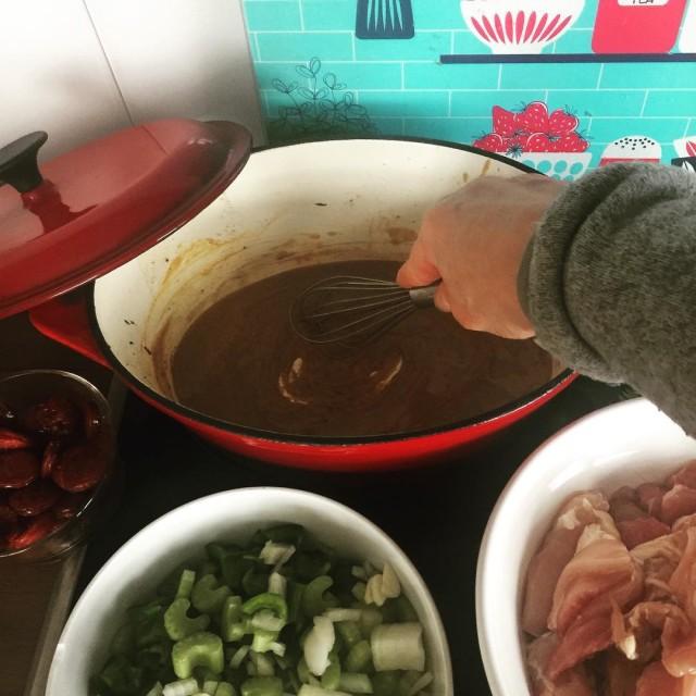 Merke Kein Gumbo kochen wenn man sowieso im Stress isthellip