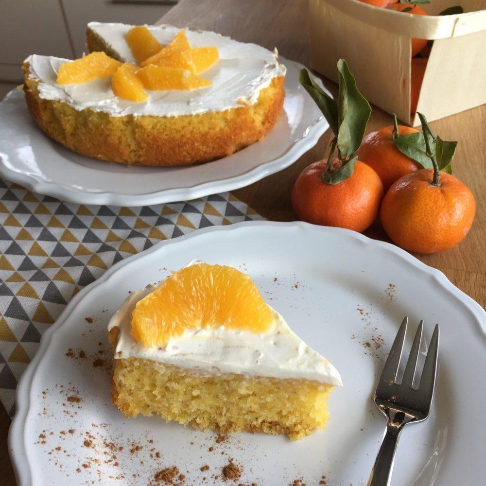 Orangen Polenta Kuchen