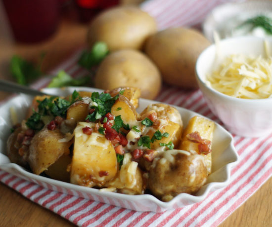 Raclettekartoffeln aus dem Slowcooker