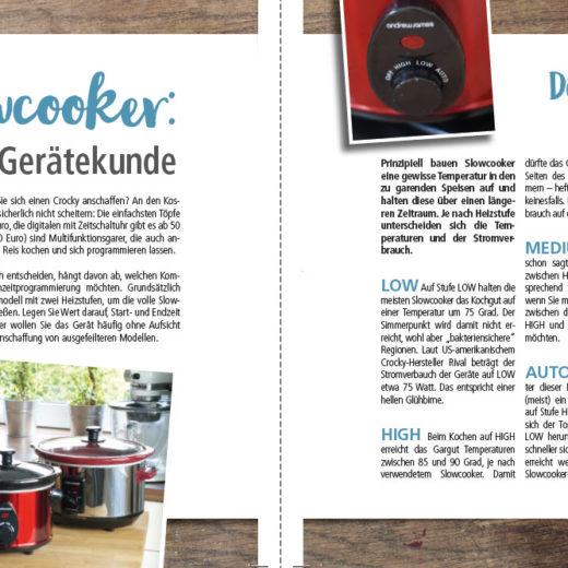 Das neue Grundkochbuch für Slowcooker ist erschienen