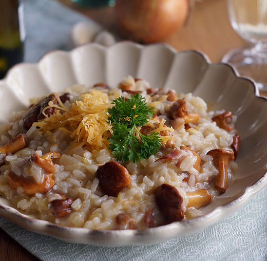 Pfiifferlingrisotto