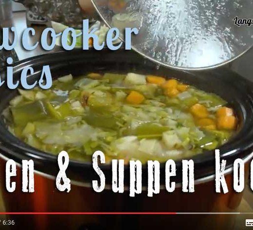 Brühe & Fonds im Slowcooker kochen