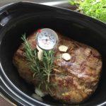 Roastbeef im Slowcooker zubereiten