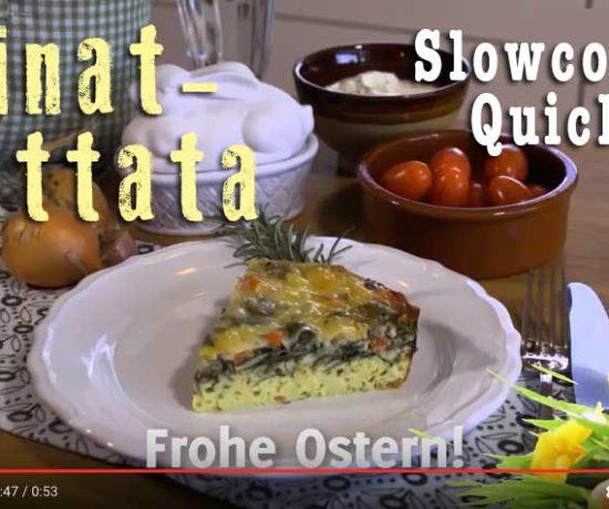 Frittata aus dem Slowcooker