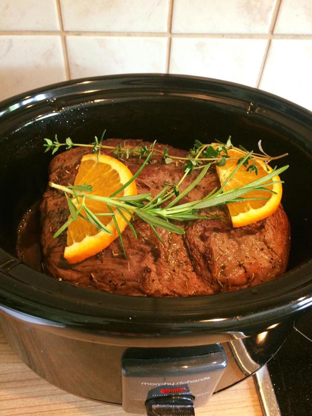 Gastrezept von Madlen: Rinderbraten provencale | Langsam kocht besser
