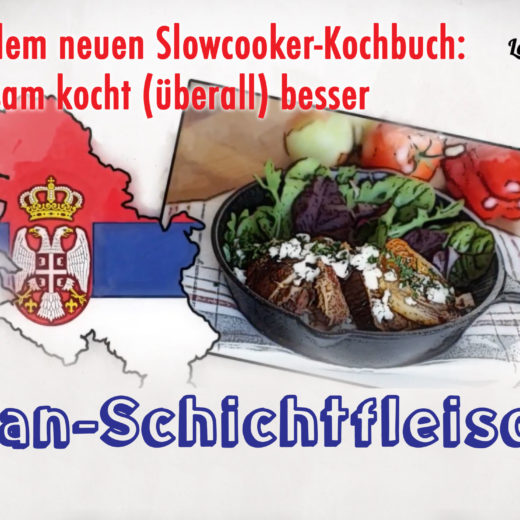 Video Balkan-Schichtfleish aus dem Slowcooker