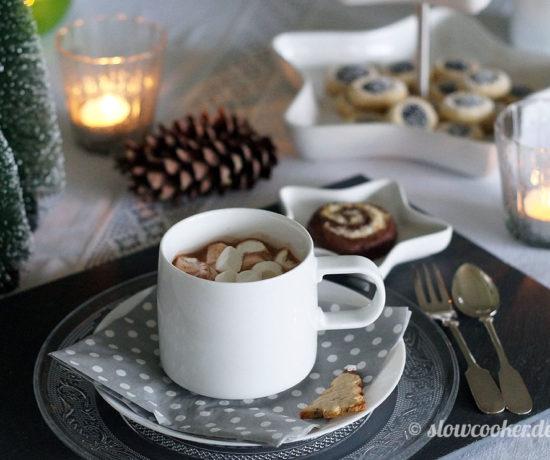 Adventskaffee für Freunde - mit ASA-Geschirr