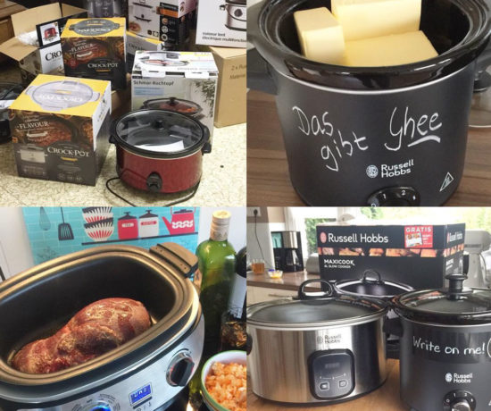 Slowcooker Charity Auktion