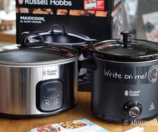 Zwei neue Russell Hobbs Slowcooker