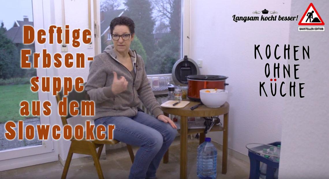 ERbsensuppe aus dem Slowcooker