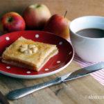 Apfelmuskuchen wie von der Bäckerei