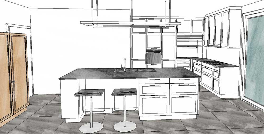 k chenplanung schritt 3 welchen entwurf nehme ich langsam kocht besser. Black Bedroom Furniture Sets. Home Design Ideas