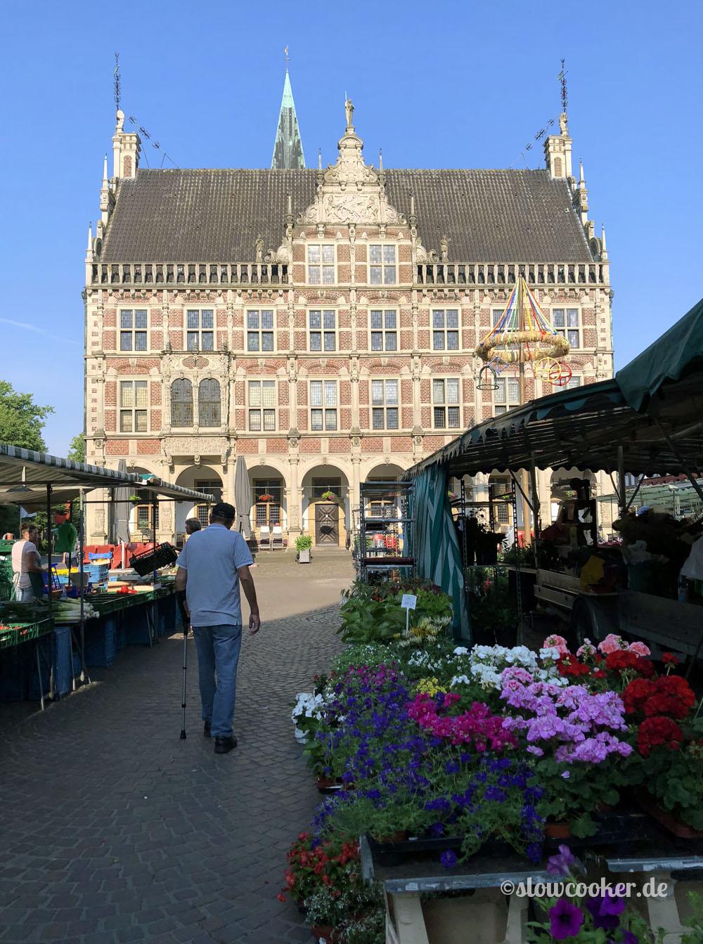 Marktspaziergang in Bocholt