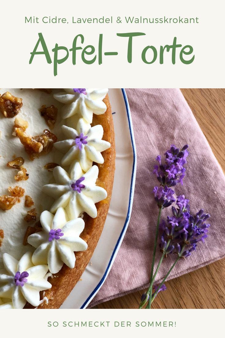 Apfel-Cidre-Torte