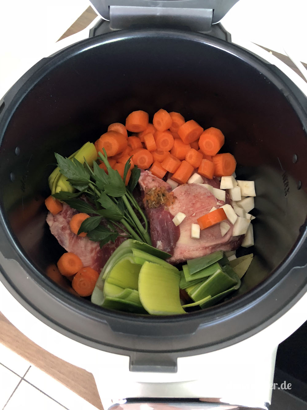 Cook4Me - Zutaten für Rindfleschsuppe, aber welches Programm?