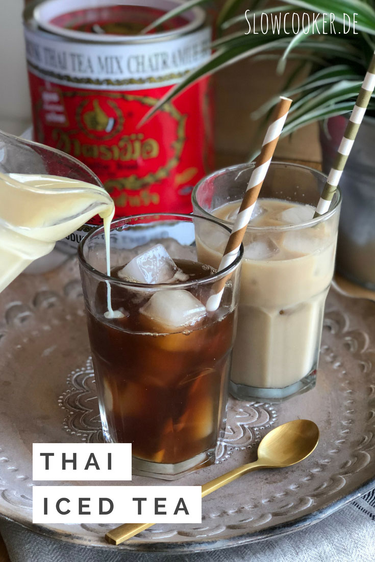 Thai Iced Tea - wie beim Thailand-Urlaub