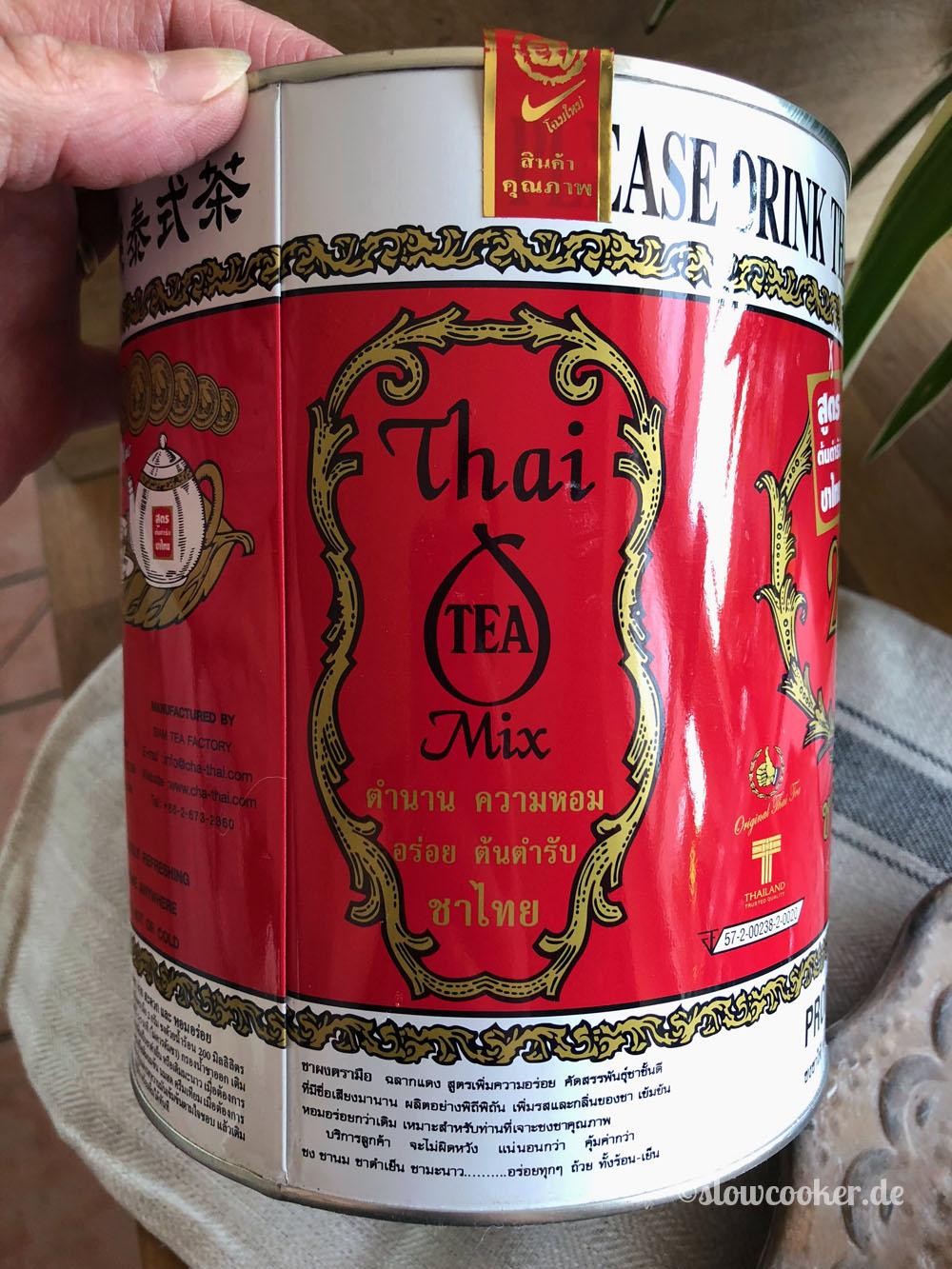Thai Tee aus dem Asialaden