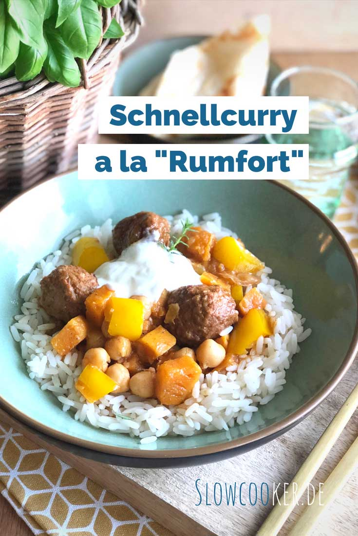 Schnellcurry a la Rumfort