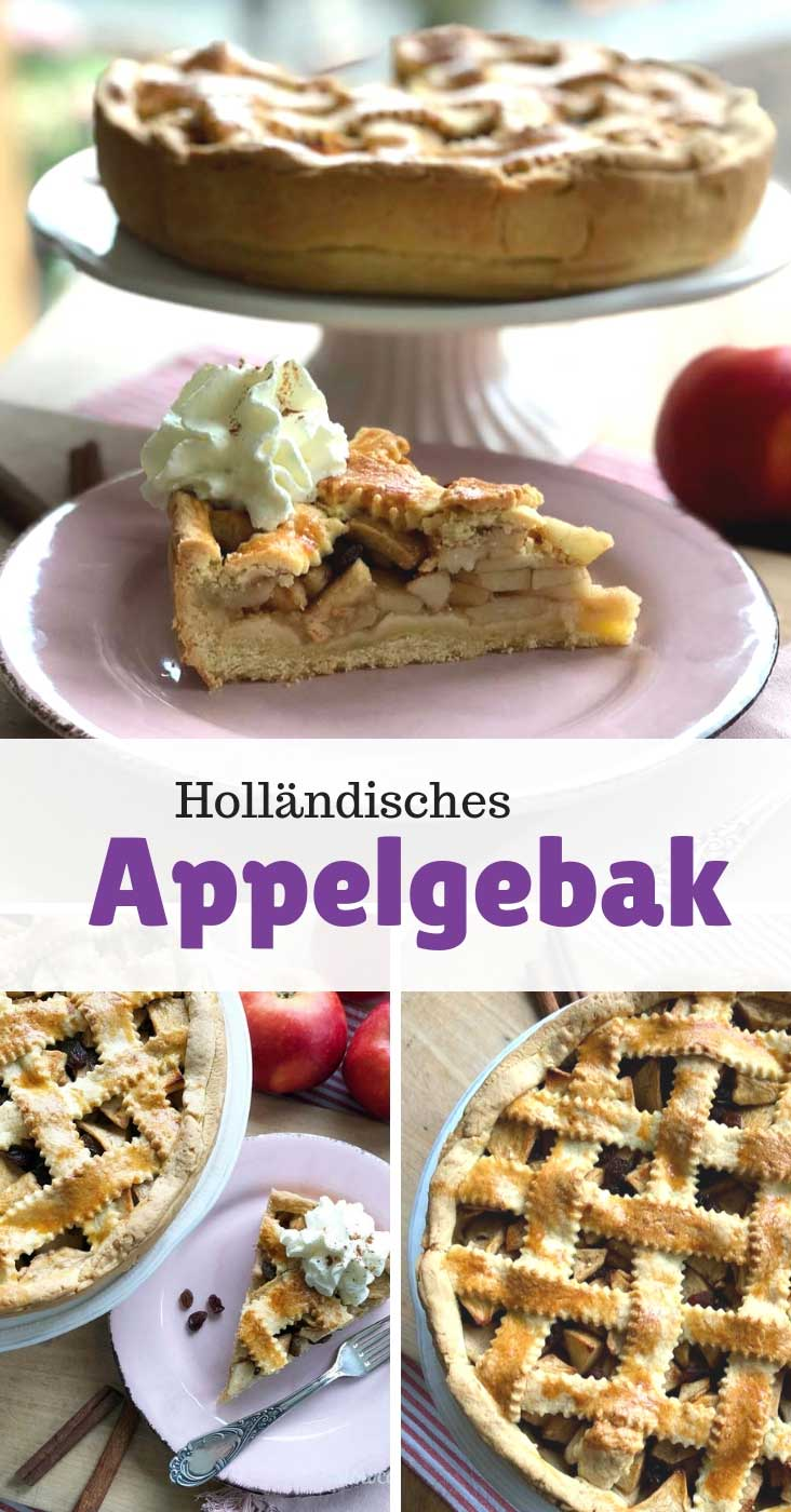 Holländische Appeltaart