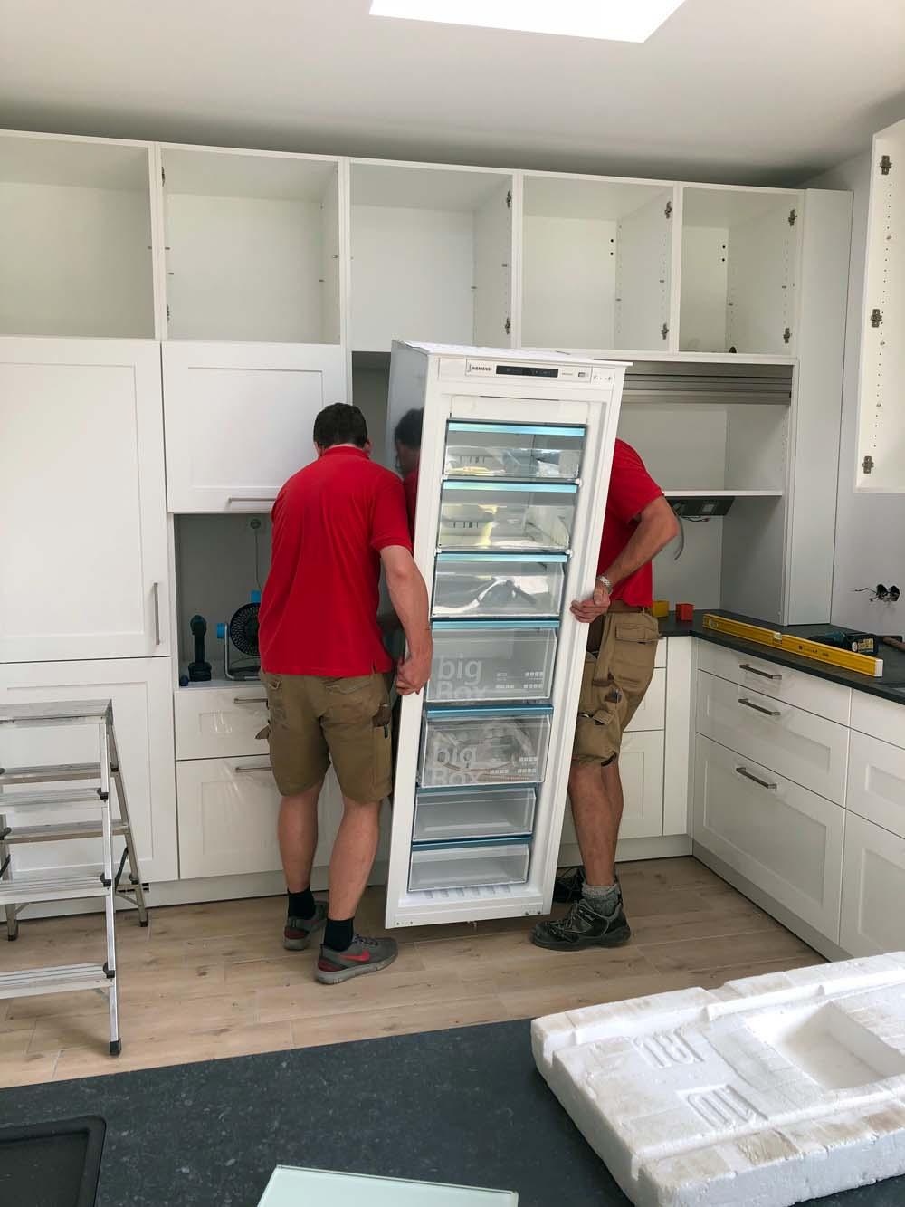Ziemliche Plackerei - der Küchenbau