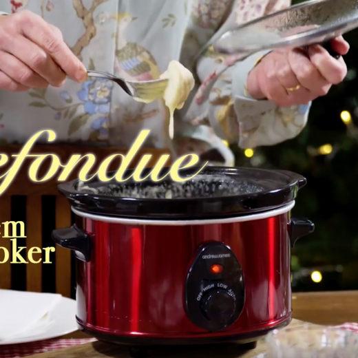 Käsefondue aus dem Slowcooker