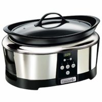 Crock-Pot SCCPBPP605-050 5,7l, digitaler Countdown-Timer, Warmhaltefunktion, Keramikeinsatz