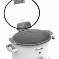 Crock-Pot CSC038 4,5l, Saute Slow Cooker mit Klappdeckel, 3 Temperaturstufen