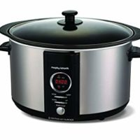 Morphy Richards 6l digitaler Slowcooker mit Anbrat-und-Schmorfunktion