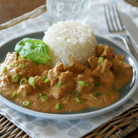 Indisches Butter-Huhn (Butter Chicken) - Slowcooker-Rezept