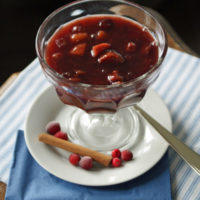 Skandinavische Fruchtsuppe (Slowcooker-Rezept)