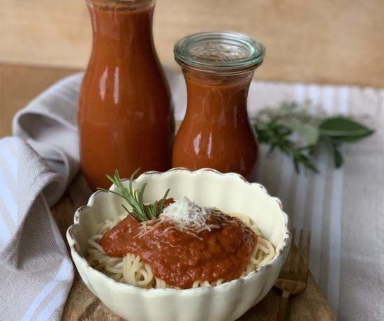Tomaten-PaprikaSauce aus dem Slowcooker