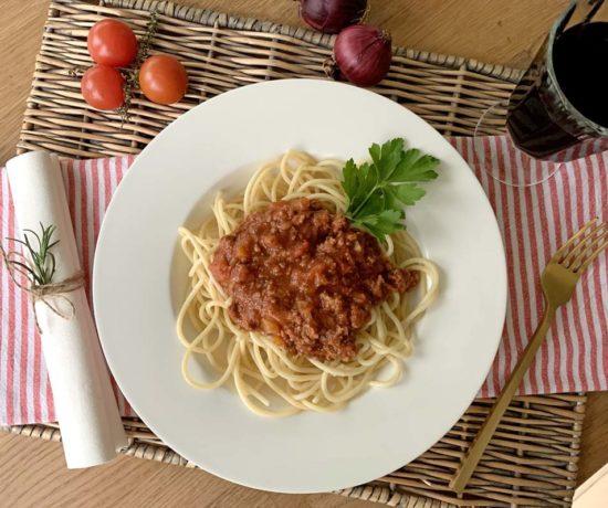 Klassische Sauce Bolognese aus dem Slowcooker