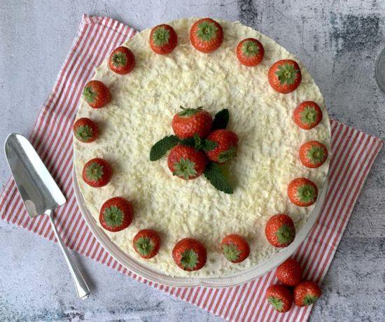 Erdbeer-Mascarpone-Torte zum Muttertag