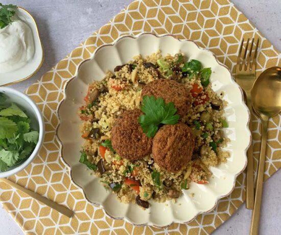 Rezept für Auberginencouscous aus dem Ninja Foodie Max