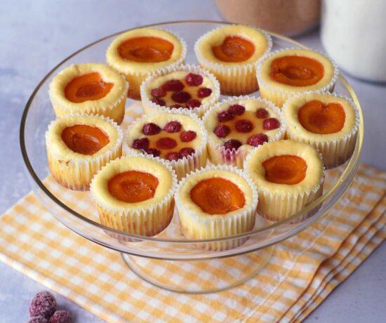 Rezept für einfach Mini-Cheesecakes