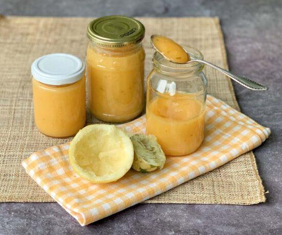 Rezept für Lemon Curd - aus dem Slowcooker oder aus der Mikrowelle